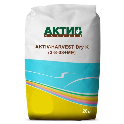 Купить Мікродобриво Актив-Харвест Dry K (3-8-38+МЕ) Украина