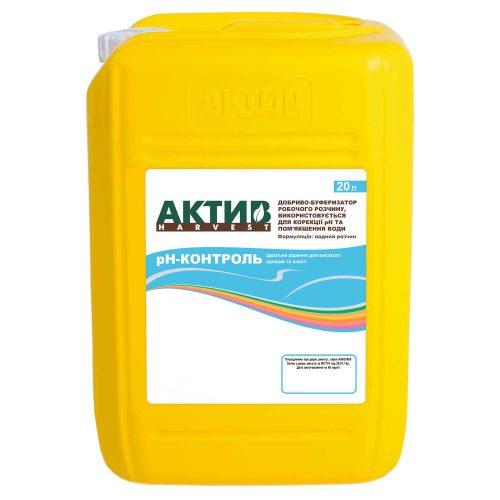 Купить Знижувач жосткості води Актив-Харвест рН-контроль 20 л Украина