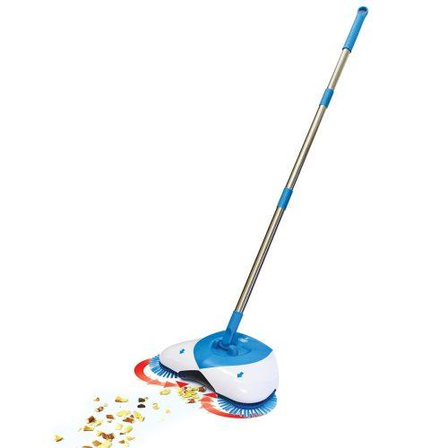 Веник для быстрой уборки Spin Broom Hurricane Голубой (4354) Щетки для подметания