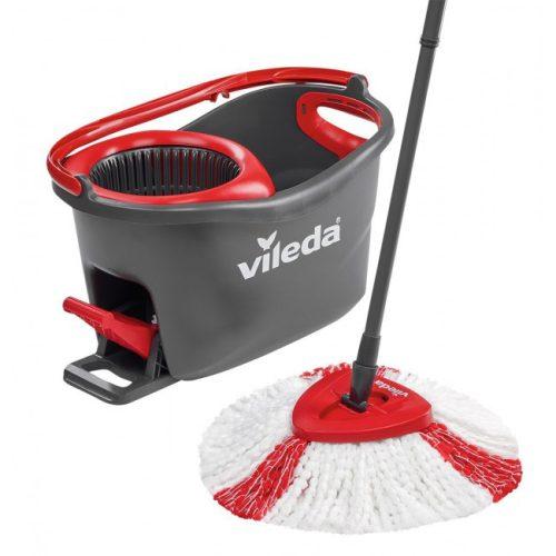 Комплект для уборки Vileda Easywring and Clean Set Серо-красный (4023103194113) Комплекты для уборки